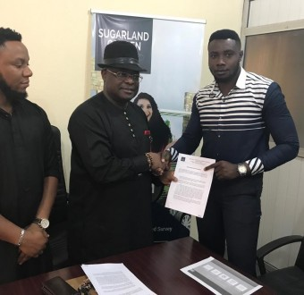 Ifezue Emmanuel signed as Sugarland Villa Real Estate Ambassador