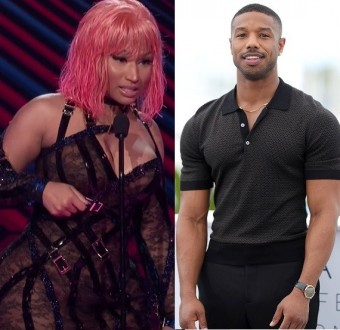 Nicki Minaj Shoots Her Shot At Michael B Jordan While Accepting Award On Stage, Says 'He's Going To Be Taking It Off Of Me Tonight' (Video)