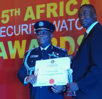 Photo: CP Edgal Imohimi shines at 15th Security Watch Africa Awards, bags two awards
