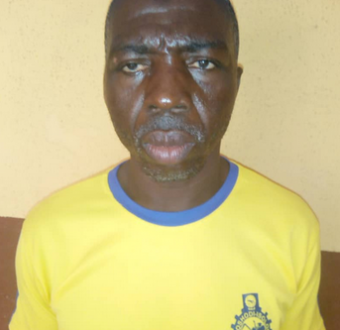 Photos: Lagos police arrest 58-year-old man for sodomising two little boys