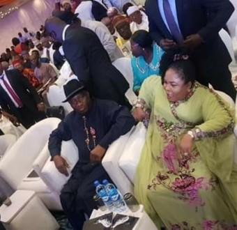Photos: Obasanjo, Atiku, Gowon, Saraki, Dogara, Abdulsalam attend Jonathan's book launch in Abuja