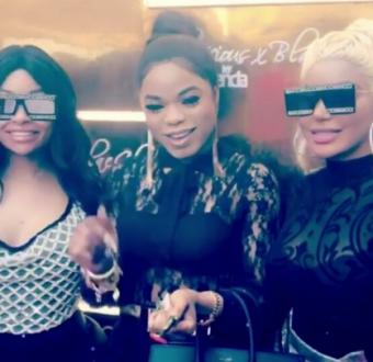 Photos/Videos: Bobrisky hangs out with Dencia, Blac Chyna
