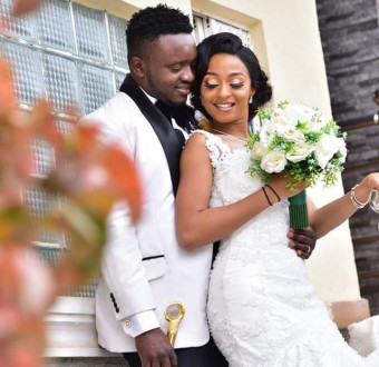 """""""A relationship that started at a motor park has been sealed""""- Nigerian couple weds 7 years after they met at a motor park"""