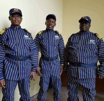 Social media users go into a frenzy asZambia unveils new uniforms for customs officers (Photos/Screenshots)