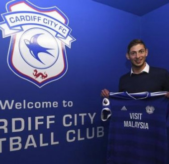 Cardiff City's striker, Emiliano Sala feared dead after his plane vanishes over Channel Islands in France