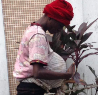 Drug addict who deceives people with her fake pregnancy in Lagos gets exposed (photos)