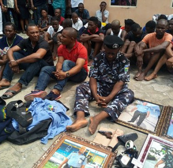 Fake Assistant commissioner of Police arrested and paraded in Akwa Ibom (photo)