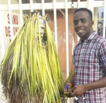 Masquerade converts to Christianity and becomes an evangelist in 6 months after an evangelist preached to him (before/after photos)
