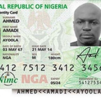 Nigerians to pay for issuance of national e-ID card from 2022 - NIMC