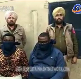Photo: Two Nigerian nationals arrested with fake Indian currency