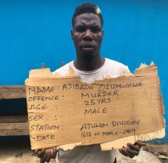 Photo: Man kills wife's alleged secret lover in Ogun