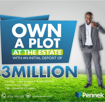 Own A Property 8Mins from Chevron/Lekki Toll Gate