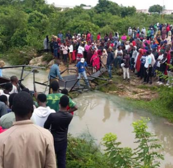 Update: Authorities shut down Abubakar Tafawa Balewa University after four students were killed following the collapse of a bridge in campus