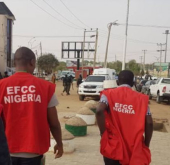 Atiku's lawyer and son-in-law remanded in EFCC custody after arraignment for money laundering,