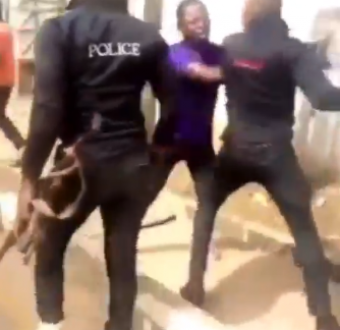 Man allegedly assaulted by police officers in Enugu for refusing to unlock his iPhone (video)