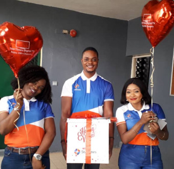 Aww…. How StarTimes celebrated Valentine's Day with Subscribers