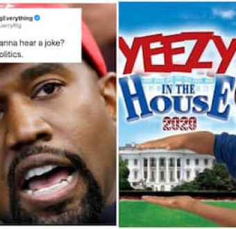 """If Kayne wins, we will have 2 first ladies in a row that did p*rn."" See social Media reactions to Kanye West"