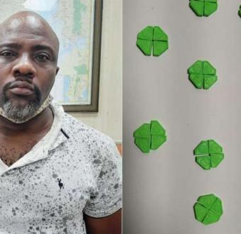 Suspected Nigerian drug peddler arrested with ecs... Image