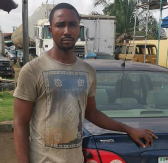 Driver arrested for allegedly stealing his princi... Image