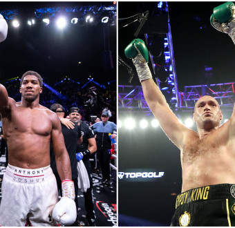 Anthony Joshua and Tyson Fury to fight in a '... Image