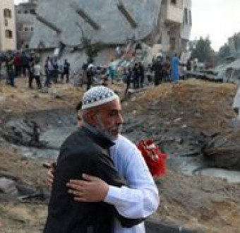 109 Palestinians and 7 Israelis killed as fight b... Image