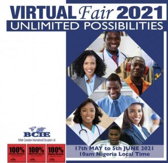 BCIE Virtual Fair 2021... Meet Universities from ... Image