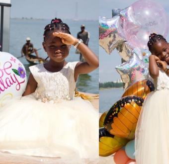 Davido celebrates daughter Imade on her 6th birth... Image