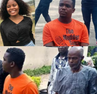 Police parade 20-year-old suspected killer of job... Image