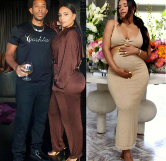 Rapper Ludacris and wife Eudoxie Mbouguiengue Bri... Image